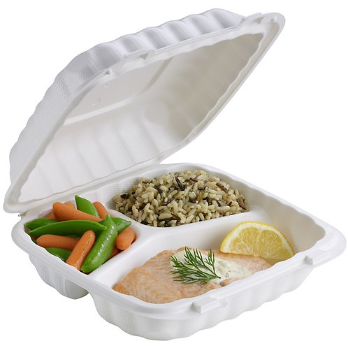 Earthchoice 3 Compartment Container