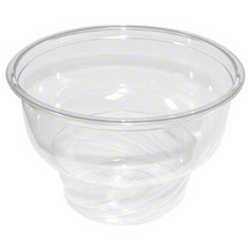 Fabri-kal 8oz Clear Dessert Container