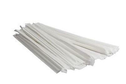 "8"" Wrapped Milkshake Straws"