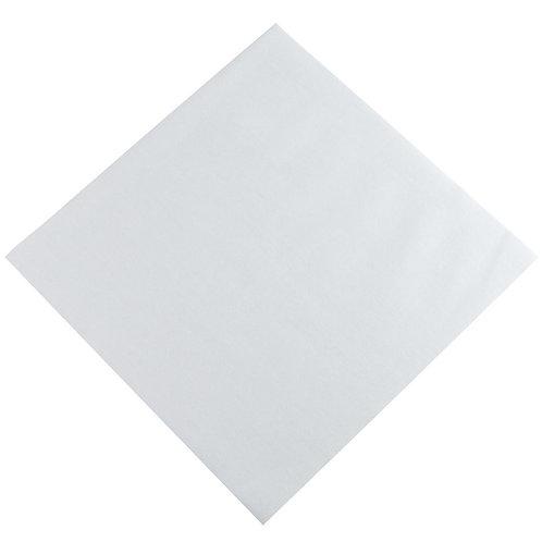 Hoffmaster White Flat Dinner Napkin
