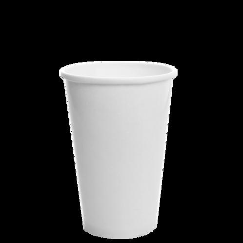 16 oz. White Paper Cup