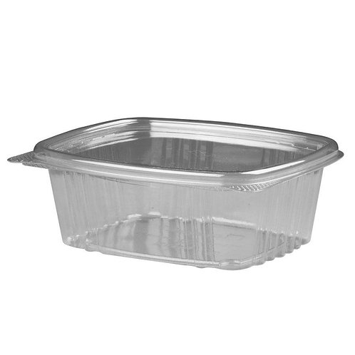 Genpak 12oz Clear Hinged Deli Container