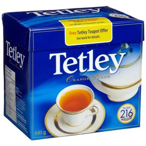 Tetley 2 Cup Orange Pekoe Tea