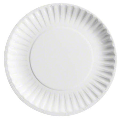"""6"""" Uncoated Paper Plate"""