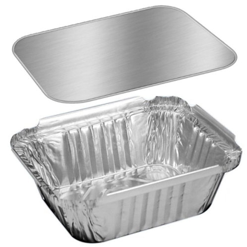 Lid for 1Lb 4x5 Foil Container