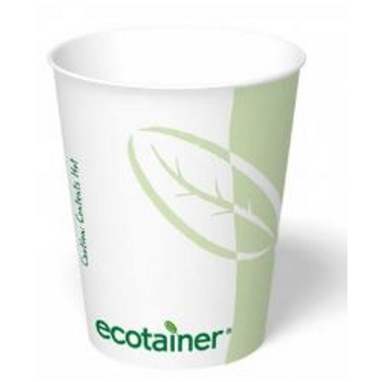 8 oz. Ecotainer Paper Cup
