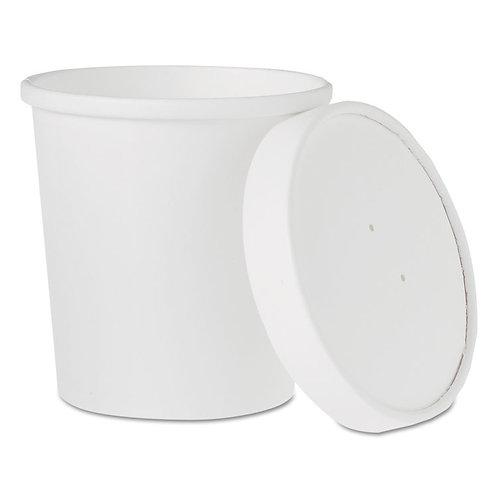 16 oz. White  Flexstyle Combo
