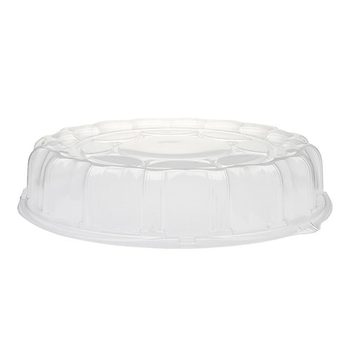 "Pactiv 16"" Tray Dome Lids"