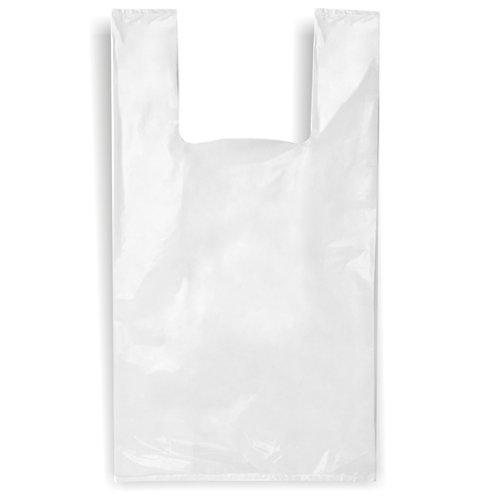 "White Shopping Bag 12"" X 16"""