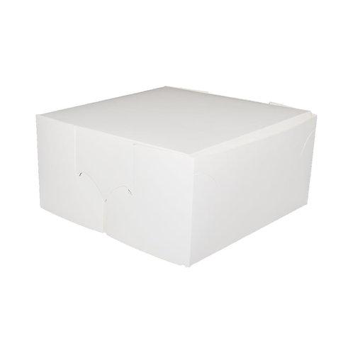 12 x 12 x6 White Cake Box