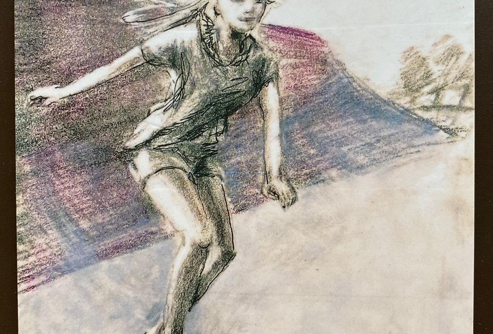 """Kunstkarten Skater,  2 Stück, Motive: """"Wind"""" und """"Contest"""""""