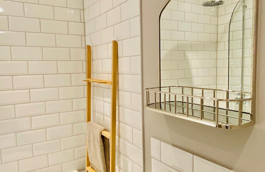 Beautiful new bathroom