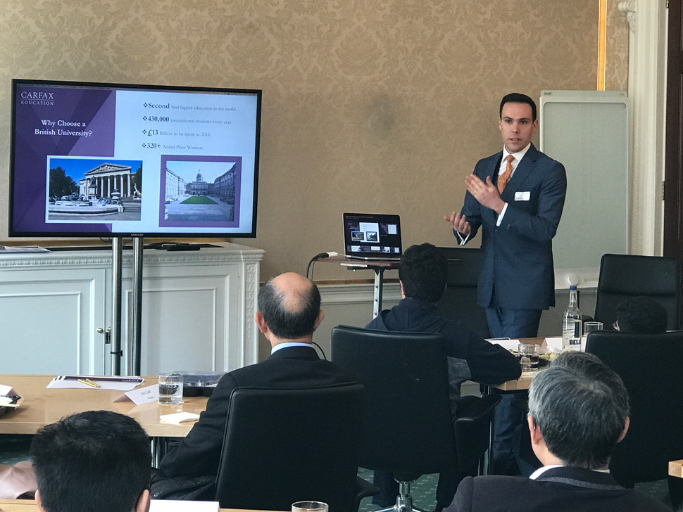 CARFAX HOSTS EDUCATION SEMINAR WITH CHURCH HOUSE INVESTMENT MANAGEMENT