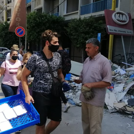 BEIRUT EXPLOSION UPDATELebanon - In a time of great need.