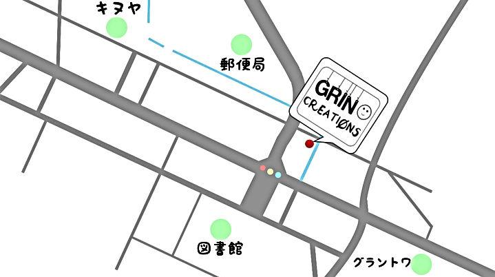 グリン周辺地図