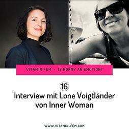 Podcast Interview mit mir und VitaminFem