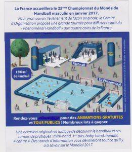 Caravane du handball