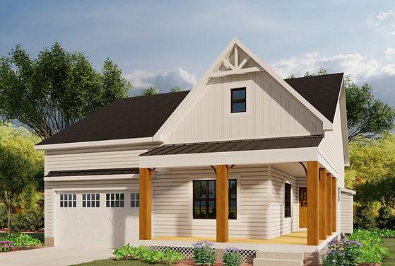 The Robert Farmhouse Elevation