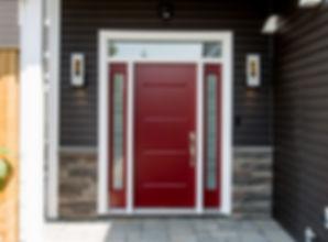 Cranberry-Red-Vog-door-with-2-Azur-sidel