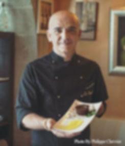 Logo Restaurant Italien à Genève La Favola 5 etoile philippe chevrier