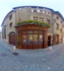 Logo Restaurant Italien à Genève La Favola photo visite virtuelle veille ville