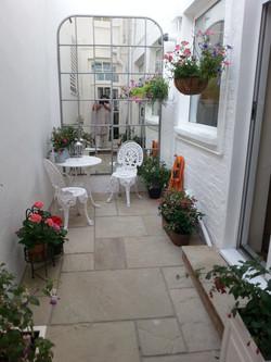 Small urban patio