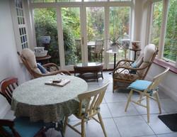 Calm conservatory