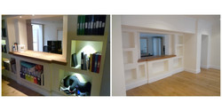 From office to living area