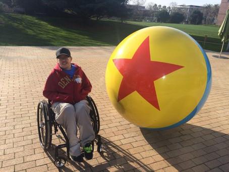 Carter visits Pixar