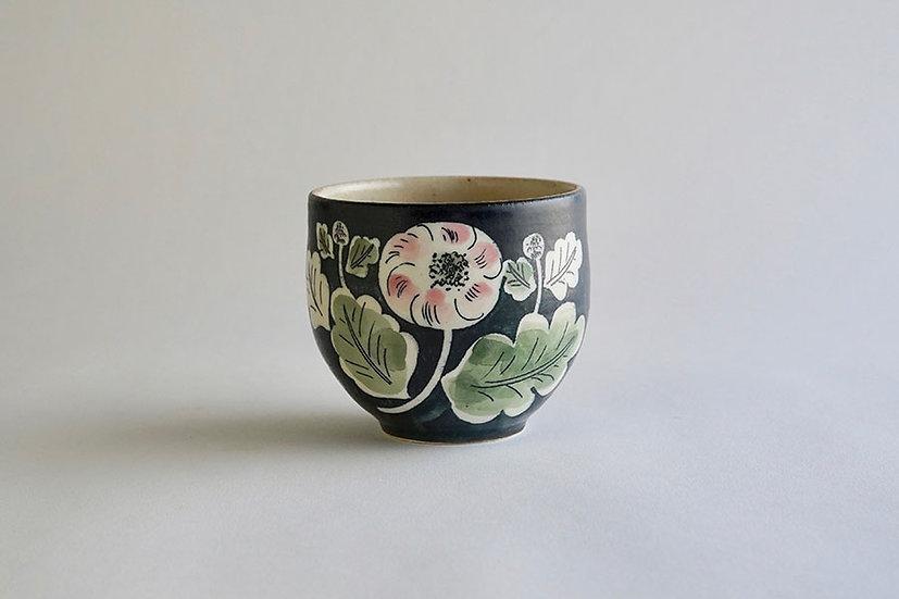 桃色菊カップ