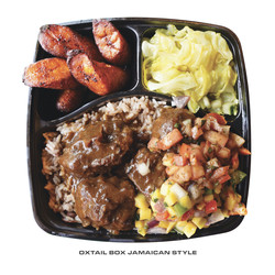 Oxtail Box Jamaican Style