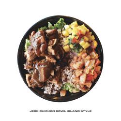 Jerk Chicken Bowl Island Style
