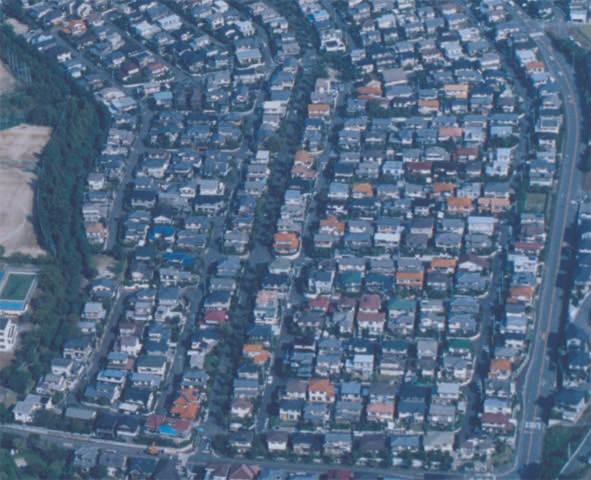 Aged housing neighborhood