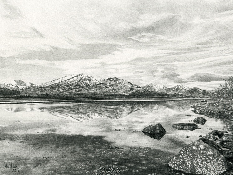 Reflections of Loch Eil