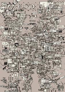 LUCKANDさんのインタビューで最近の仕事について取り上げて頂きました。  Radwimpsや凛として時雨らの数々のミュージシャンのグッズワークを手がけるラカンドさんの発行するLUCKAND Free Magazine #006 メインビジュアル担当しました。 概要:LUCKAND Free Magazine #006  #006– 2018年7月発行「縫と紡」 「工場どうしの共創」 凛として時雨「ペンタゴントートバッグ」工場レポート  「ストーリーが紡ぐアートワークと音楽の親和」 小磯竜也(画家、アートディレクター)x 永原真夏(ミュージシャン)  「音楽写真の最前線—自分のスタンスを明示する必要性」 西槇太一(フォトグラファー)× ヤオタケシ(フォトグラファー)  「価値観は二人(あなた)の手で作り出してもらいたい」 増井元紀(JAM HOME MADEディレクター)  「鹿児島に根付く、数学研究出身の絵描きの言葉」 篠崎理一郎(イラストレーター) http://luckand.jp/article/3453/