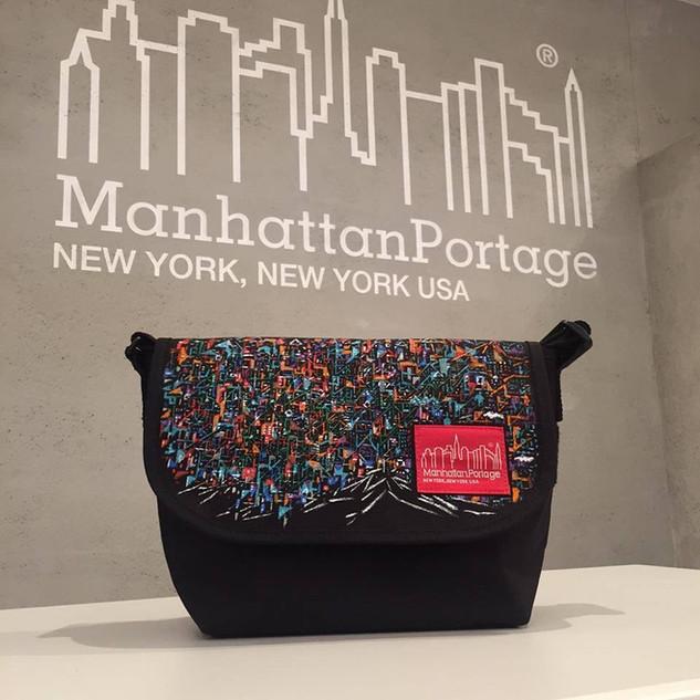 Manhattan Portage(NY) ×Riichirou Shinozaki  メッセンジャーコラボバック
