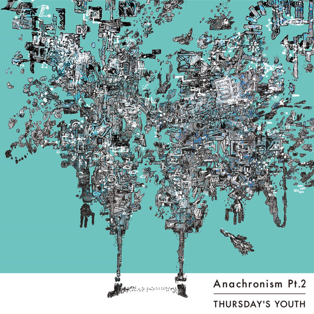 THURSDAY'S YOUTH 2nd album「Anachronism Pt.2」 ジャケットイラスト(表)    ○iTunes Store(販売) https://music.apple.com/jp/album/anachronism-pt-2/1480396896 . ○Apple Music https://music.apple.com/jp/album/anachronism-pt-2/1480396896 . ○Spotify https://open.spotify.com/album/24QuAAhzZBJSxg5pjEudba . ○LINE MUSIC https://music.line.me/album/mb00000000019d258a . ○Google Play(販売) https://play.google.com/store/music/album/Anachronism_Pt_2?id=Brmiszbqud5h22jhxdxbobqs7be&hl=ja&fbclid=IwAR0qzrtpzHABvU8wQgR42HxX0dTZIZ4YvPrRYEP-2ROLnoSZNp4MJrRJOpE