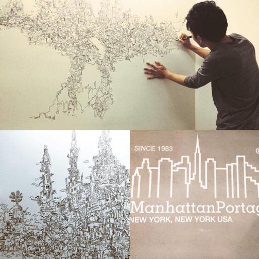 Manhattan Portage × SHINOZAKI RIICHIROU