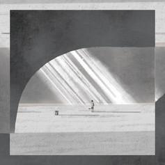 THURSDAY'S YOUTH 2nd album「Anachronism Pt.1」アナザージャケットイラスト