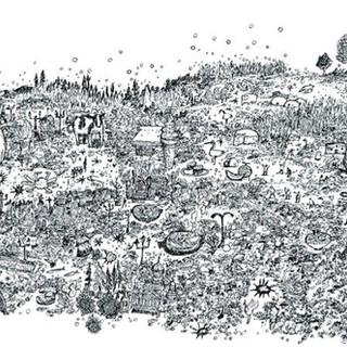 トンボ鉛筆 「モノグラフライト」プロモーションイラスト 北海道編
