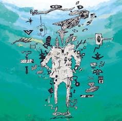"""ソニー・ミュージックレーベルズよりメジャーデビューの『はてな』のアーティストイラストを手掛けました。未だ断片的でありますが、今後のアートピースにもご期待ください。 はてなのデビューシングル「夢?」(ゆめじゃない)はTV朝日系アニメ『体操ザムライ』のエンディング・テーマとして放送されています。  ■はてな公式サイトhttps://www.hatena-web.com/■  はてな メジャーデビューシングル「夢?」2020年11月15日(日)デジタルリリース iTunes、Spotifyなど各配信サイトにて11月15日(日)午前0時より順次配信開始されます。   TVアニメ『体操ザムライ』https://taiso-samurai.com/ 2020年10月10日よりテレビ朝日系全国24局ネット""""NUMAnimation""""枠にて毎週土曜深夜1:30放送中   エンディング・テーマ 「夢?」(ゆめじゃない)はてな (ソニー・ミュージックレーベルズ) 作詞:いしわたり淳治 作曲:はてな 編曲:HIDEYA KOJIMA"""