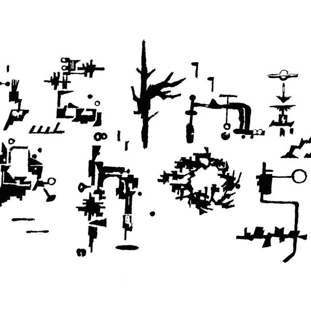THURSDAY'S YOUTH 2nd album「Anachronism Pt.1」ロゴ 1