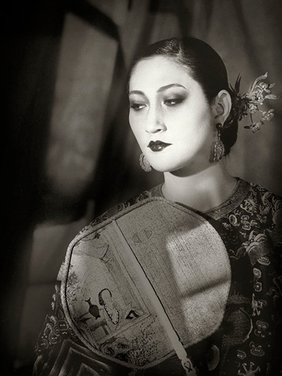 Empress with Paper Fan