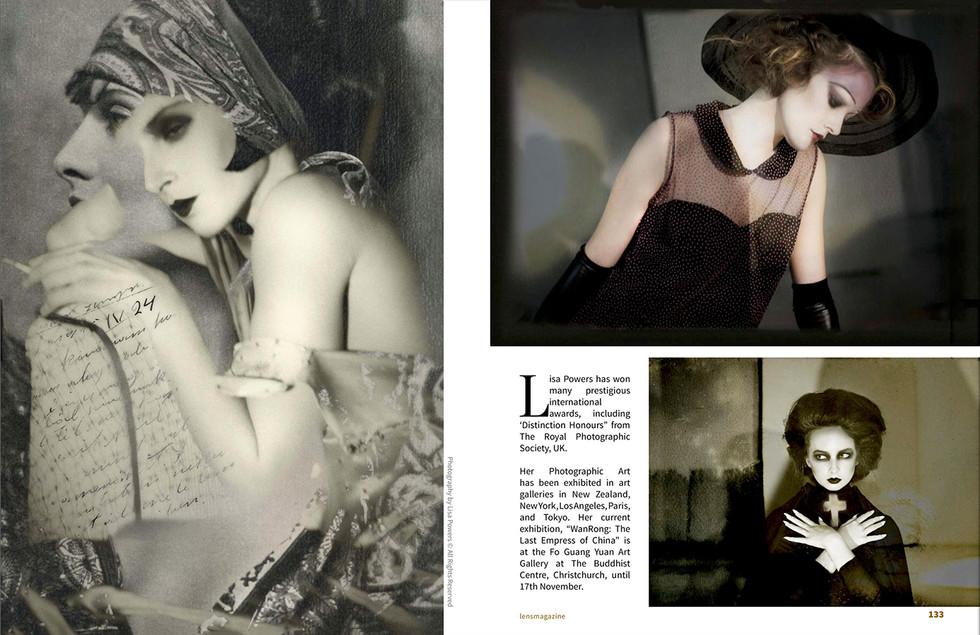 LENS Magazine 4th Spread