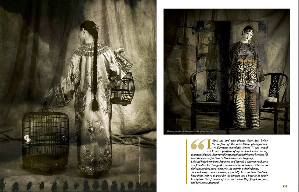 LENS Magazine 6th Spread