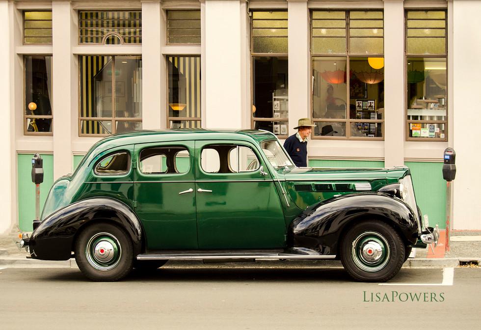 Vintage Car, Napier, New Zealand