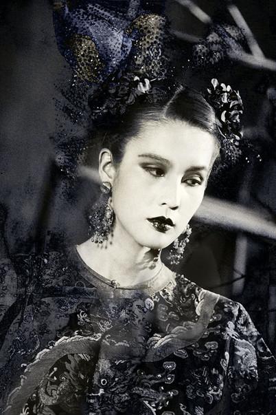 Empress in Formal Attire and Headdress