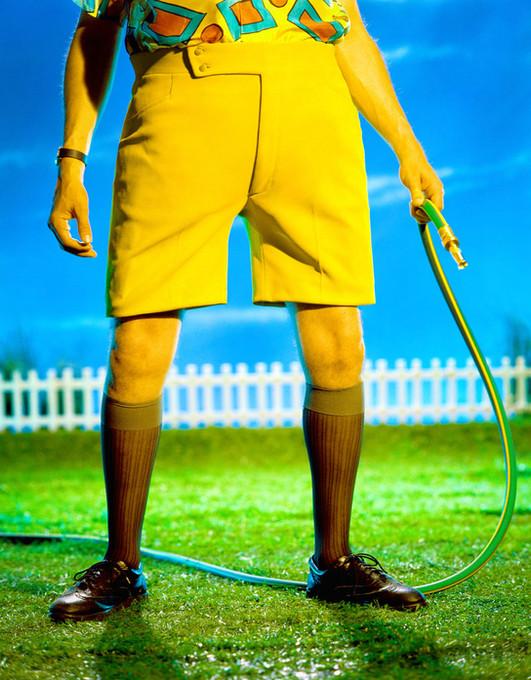 Dad's Yellow Shorts