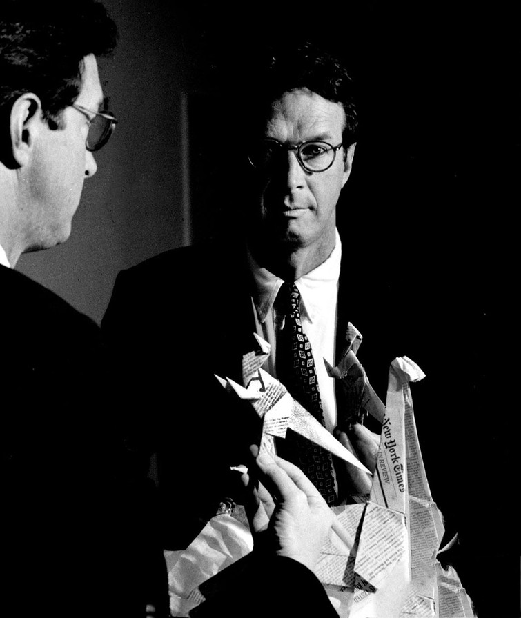 "Michael Crichton, author ""Jurassic Park"""