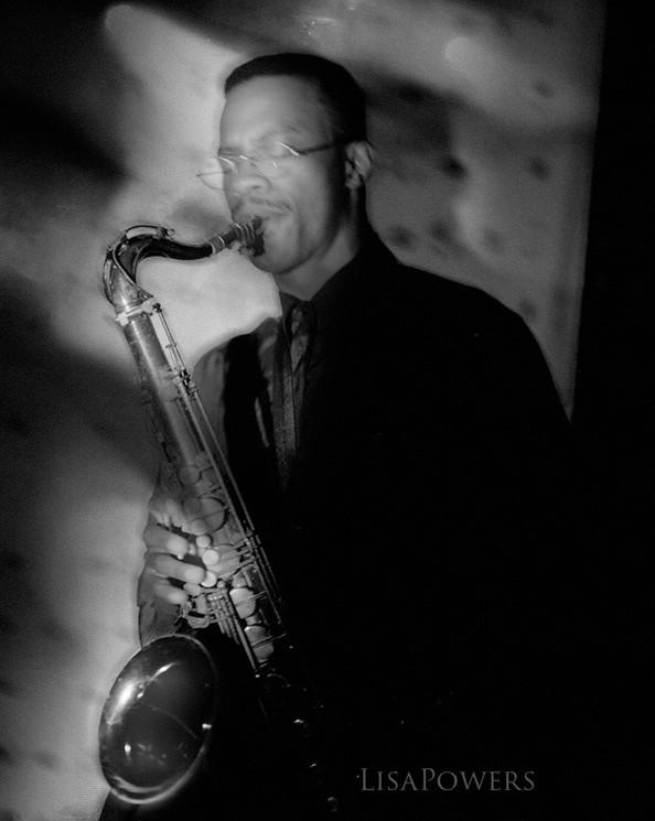 Saxophone Player, Darren H.